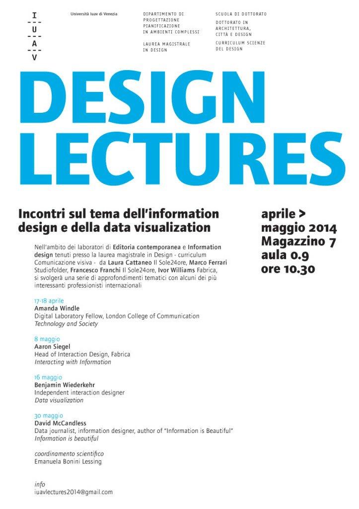 iuav design lectures 2014